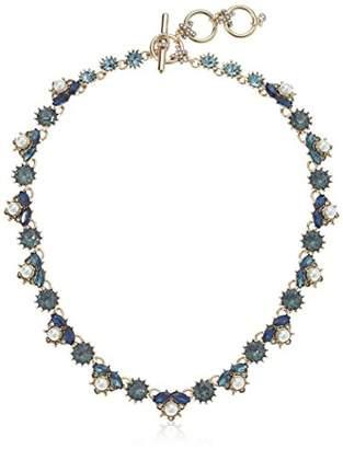 Marchesa Women's Gold/ Multi Collar Necklace