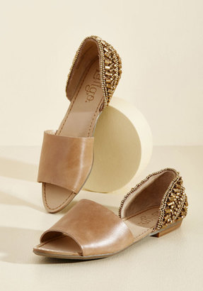 Lisbon to Your Heart Flat in Tan in 11 $89.99 thestylecure.com