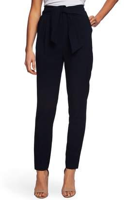 b0f6fe6476cd CeCe Tie Waist Straight Leg Pants