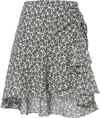 A.L.C. Farrow Flutter Mini Skirt