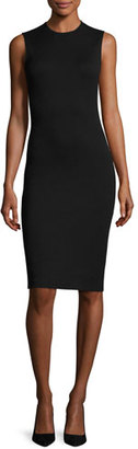 Theory Eano B Sleeveless Cocktail Sheath Dress, Black $335 thestylecure.com