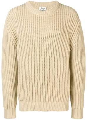 Acne Studios oversized ribbed sweater