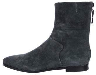 Carritz Suede Ankle Boots