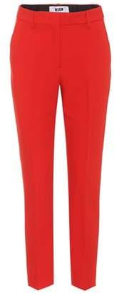 MSGM Crêpe trousers