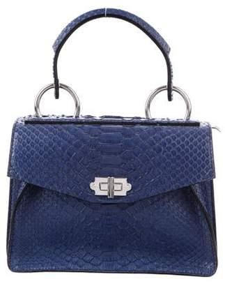 Proenza Schouler Small Python Hava Top Handle Bag