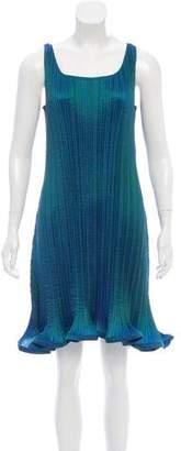 Issey Miyake Pleated Sleeveless Dress