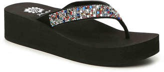 Yellow Box Scalia Wedge Sandal - Women's