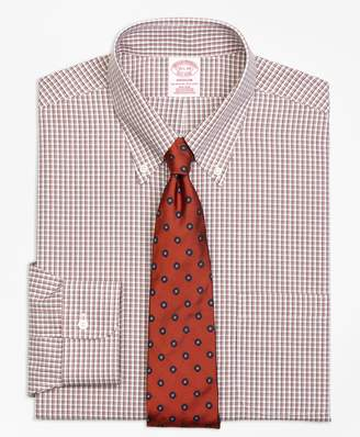 Brooks Brothers Madison Classic-Fit Dress Shirt, Non-Iron Twin Check