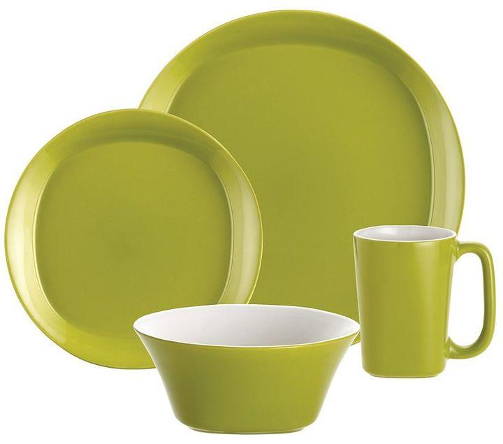 Rachael Ray Round & Square 16-pc. Dinnerware Set