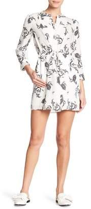 A.L.C. Hazel Paisley Silk Dress