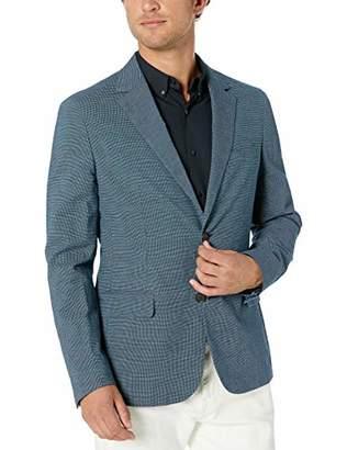 Lacoste Men's Cotton/Linen Textured Blazer Slim FIT