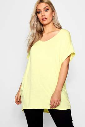 boohoo Plus Oversized T-Shirt