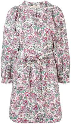 Vanessa Bruno floral print knot dress