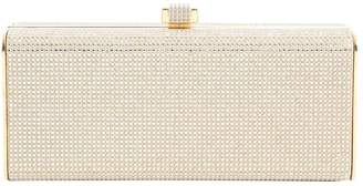 Stark Gold Leather Clutch Bag