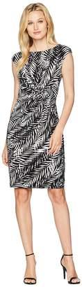 Lauren Ralph Lauren Joss Zebra Twigs Women's Dress