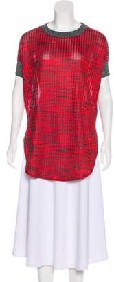 By Malene Birger Rib Knit Short Sleeve Top w/ Tags