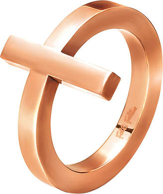 Folli Follie Carma rose gold-plated ring
