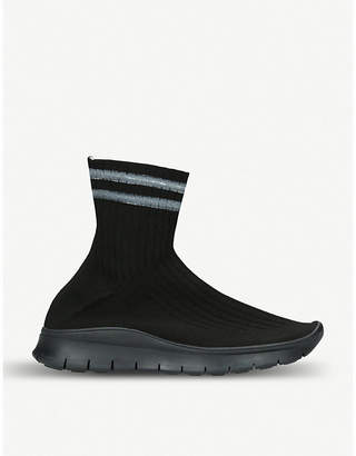 Maison Margiela Sock stretch-knit high-top trainers