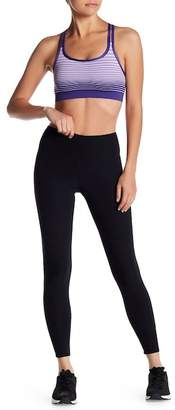 Bally Total Fitness Lace Back Tight Ankle Leggings