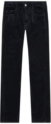 McQ Velvet Straight Trousers