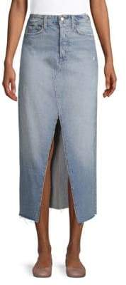 Joe's Jeans Alessa Denim Midi Skirt