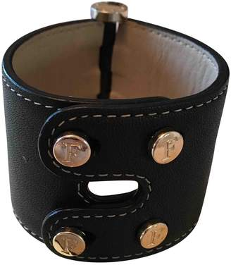 Furla Black Leather Bracelets