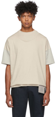 Off-White Keenkee and Grey Roll-Up T-Shirt