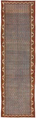 "ABC Home Antique Kurdish Wool Runner - 3'3""x12'"