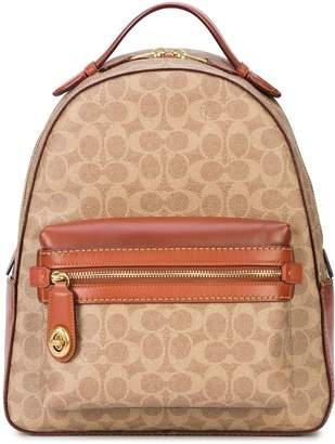 Coach signature canvas Campus backpack