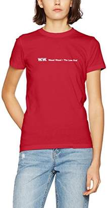 Wood Wood Women's Eden T-Shirt,6 (Manufacturer Size: X-Small)