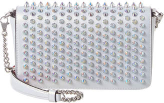 Christian Louboutin Zoompouch Studded Leather Crossbody