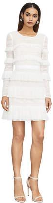 BCBGMAXAZRIA Darin Floral Lace Dress