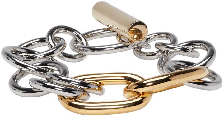 Alexander WangAlexander Wang Gold & Silver Toggle Bracelet