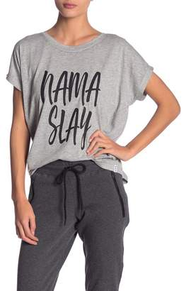 Andrew Marc Graphic Cool Wash Dolman Tee