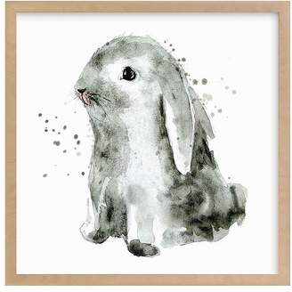 Pottery Barn Kids Bunny 1, Black, 8x8