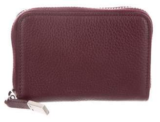 Christian Dior Leather Zip Wallet