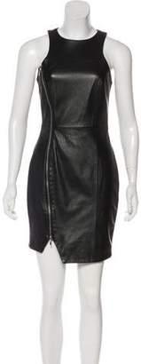 Nicholas Leather Mini Dress w/ Tags