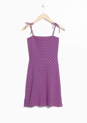 Graphic Mini Dress