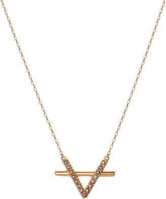 Icon Eyewear Aurate Icon Necklace with Black Diamonds