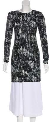 Theory Structured Printed Tunic