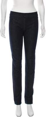 The Row Mid-Rise Skinny Jeggings