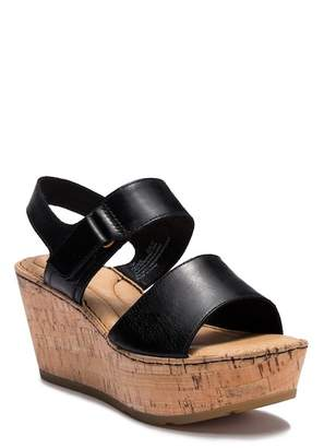 Børn Mae Leather Wedge Sandal