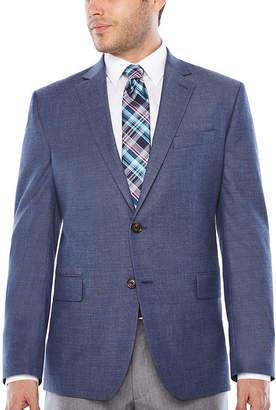 Jf J.Ferrar Classic Fit Woven Dots Sport Coat
