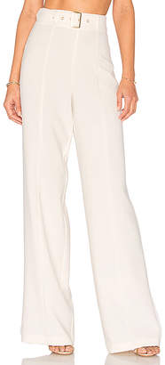Lovers + Friends x REVOLVE Angeli Pants in Ivory $148 thestylecure.com