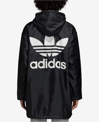 adidas Adicolor Fleece-Lined Logo Jacket