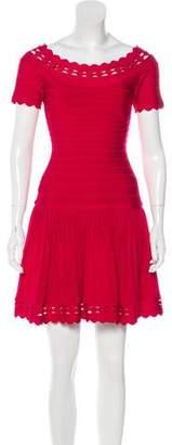 Herve Leger Khloe Cutout Dress
