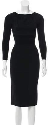 Narciso Rodriguez Long Sleeve Sheath Dress w/ Tags