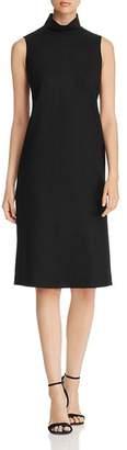 Lafayette 148 New York Teresa Sleeveless Turtleneck Dress