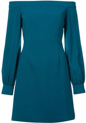 Jill Stuart crepe off the shoulder dress