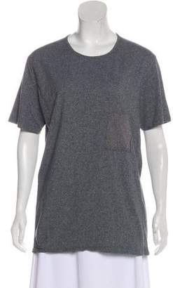 Folk Tonal Short Sleeve Top